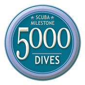 Milestone: 5000 Dives