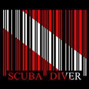 Barcode Dive Flag