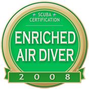 Certified Nitrox Diver 2008