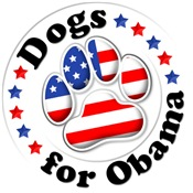 Patriotic Dogs for Obama