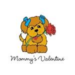 Personalized Valentine Puppy