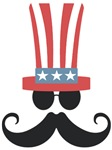 Patriotic Mustache