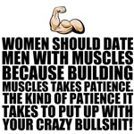 Women should date men with muscles