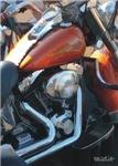 H3177 Motorcycle Watercolor