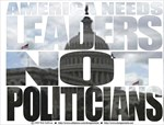 america needs leaders not politicians