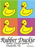 Rubber Duckie warholism3