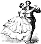 Old-Time Dancers
