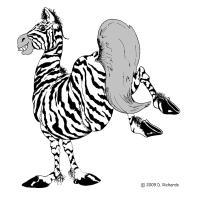 Zeke (the fun loving) zebra