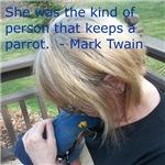 Hyacinth Macaw - Pam