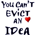 Occupy Boston Slogan - You Can't Evict an Idea