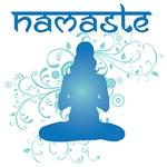 Namaste Lotus Pose