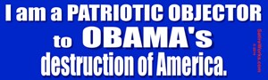 Objector to Obama