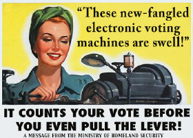 Newfangled Voting Machines