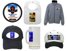 Hats, Baby Items, Clocks, Fleece & Other Odd Items