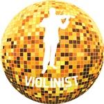 Disco Ball Violinist