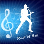 Treble Clef Rock & Roll