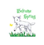 WELCOME SPRING LAMB