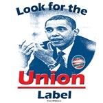 Obama Union Label
