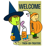 Welcome Trick-or-Treaters!