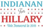Indianan for Hillary