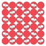 Kitty Cat Polka Dots