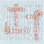 Typographic Obama Word Search Puzzle