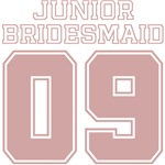 Uniform Junior Bridesmaid 09 T-Shirts