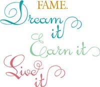 Dream It. Earn It. Live It.