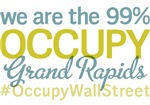 Occupy Grand Rapids T-Shirts