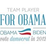 Team Player For Obama