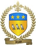 ALLAIN Family Crest