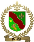 DELARUE Family Crest
