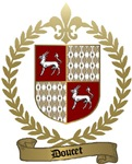 DOUCET Family Crest