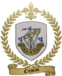 CREPEAU Family Crest