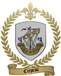 CREPEAU Family Crest