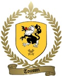 TOUSSIN Family Crest