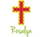 Rosalyn Bubble Cross