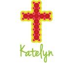 Katelyn Bubble Cross