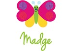 Madge The Butterfly