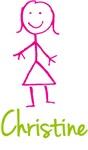 Christine The Stick Girl