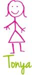 Tonya The Stick Girl
