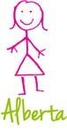 Alberta The Stick Girl