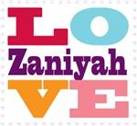 I Love Zaniyah