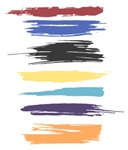 Paint Strokes Artistic Abstract Color Streaks