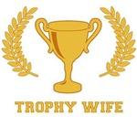 Happy Golden Trophy Wife