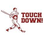 Touchdown Homerun Baseball Football Sports