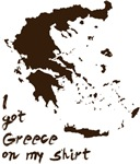 Greece Grease on my Shirt
