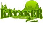 Kayaker 2(Green)