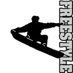 Freestyle Snowboard (Black)