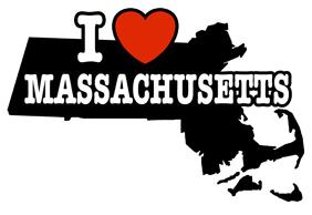 I Love Massachusetts t-shirts